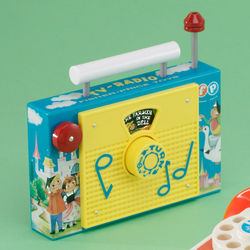 Retro TV Radio Toy
