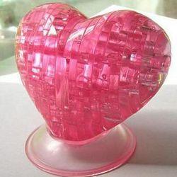 Heart 3D Jigsaw Crystal Puzzle