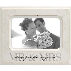 Always From This Day Forward Mr. & Mrs. Picture Frame