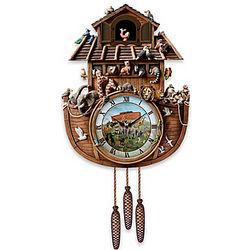 Noah's Ark Cuckoo Clock