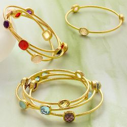 Gemstone Meaning Bangle