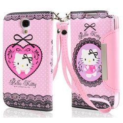 Pink with Black Lace Hello Kitty Flip Phone Case