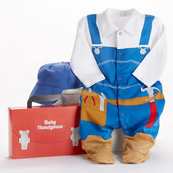 Big Dreamzzz Baby Handyman 2-Piece Layette Set
