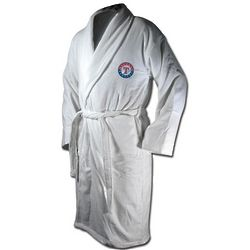 Texas Rangers Terrycloth Logo Bathrobe