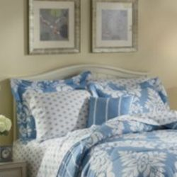 Rene Blue Standard Pillow Shams