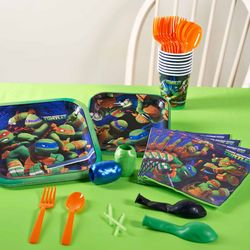 Teenage Mutant Ninja Turtles Party Pack for 16