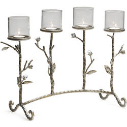 Guilded Tealight Holder Twigs Centerpiece