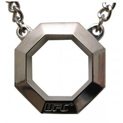 Stainless Steel Women's Octagon Pendant