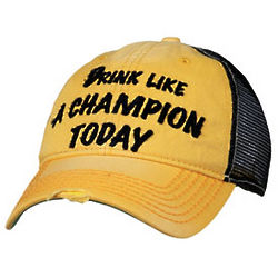Drink Like a Champion Trucker Cap