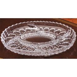 Crystal Serving Platter