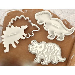 Fossil Cookie Cutters