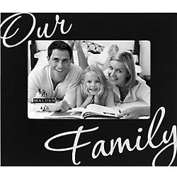 Our Family 4x6 Picture Frame