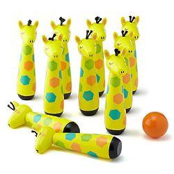 Giraffe Mini Bowling Game