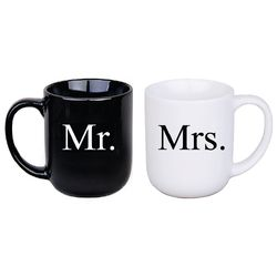 Mr. & Mrs. Mugs Gift Set