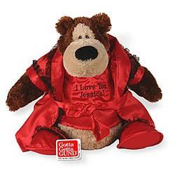 Red Lingerie Teddy Bear