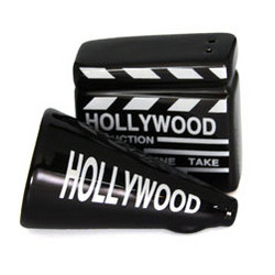 Movieland Salt & Pepper Shakers Set