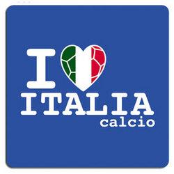 I Heart Italy Window Decal