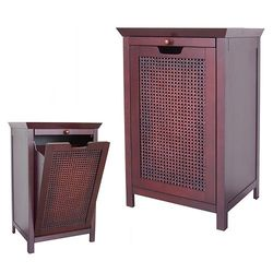 Elite Home Fashions Cane Hamper