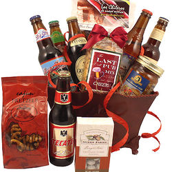 Valentine's Day Beer Bash Gift Basket