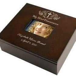 Holy Cross First Communion Keepsake Box