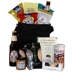 Caddypack Golf Cooler Gift Basket