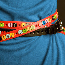 Adjustable Recycled Belt with Elements Kit