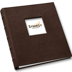 "Gallery Leather 1.25"" Window Presentation Binder"