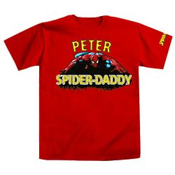 Personalized Spider Dad T-Shirt