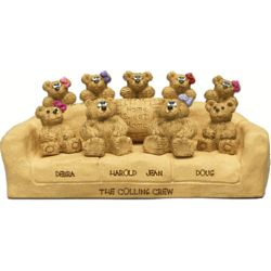 Sofa for Couples with up to 9 Family Bears