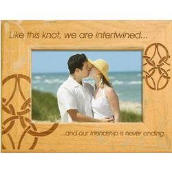 Romantic Celtic Knot Frame