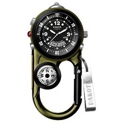 Fisherman's Angler II Multi-Purpose Clip Watch