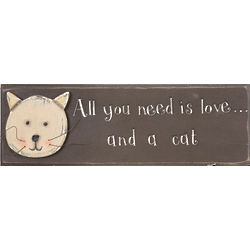 All You Need is Love and a Cat Sign