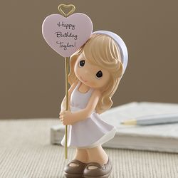 Personalized Birthday Wishes Precious Moments Girl Figurine