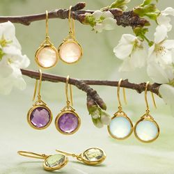Gemstone Meaning Earrings