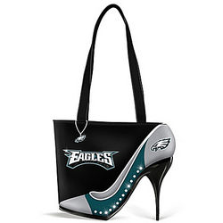 Kick Up Your Heels Philadelphia Eagles Handbag