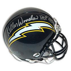 Kellen Winslow San Diego Chargers Autographed Mini Helmet