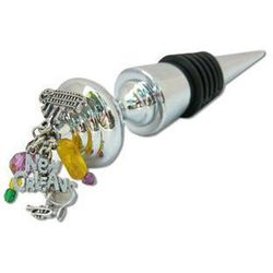 New Orleans Theme Wine Bottle Stopper