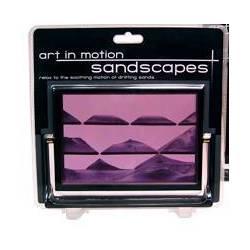 Purple Sandscapes Sand Art