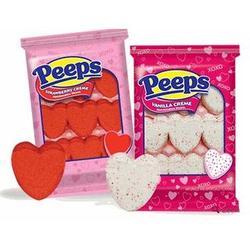 Marshmallow Peeps Hearts
