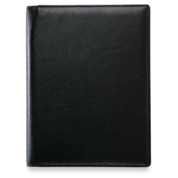 Leather Journal Pad Folio with Calculator