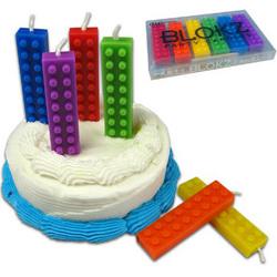 Blokz Birthday Candles