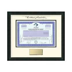 One Share of Archer Daniels Midland Stock Framed