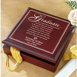 Personalized Graduation Wood Memory Box