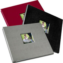 Gallery Leather 6-Up Photo Album and 12x12 Scrapbook