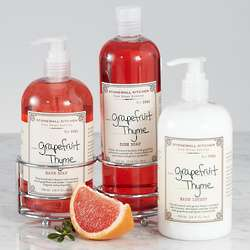 Grapefruit Thyme Lotion and Soap Set