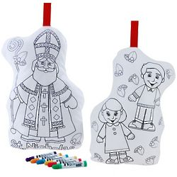 Color and Hug St. Nicholas Coloring Kit