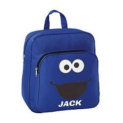 Personalized Cookie Monster Small Backpack