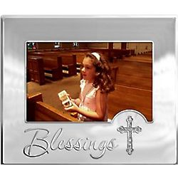 Blessings Picture Frame with Cross