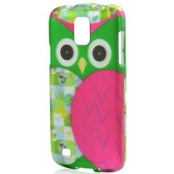 Hot Pink & Green Owl Case for Samsung Galaxy S4