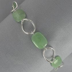 Jade Nugget Bracelet